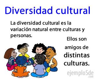 Se llama diversidad cultural al conjunto de diferencias que son aceptadas en la sociedad.