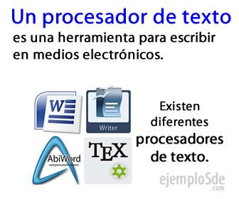 Los procesadores de texto son herramientas de redacción para diferentes plataformas, Android, Windows, Mac, Linux etc.