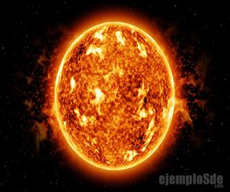 El Sol es el principal manantial de calor