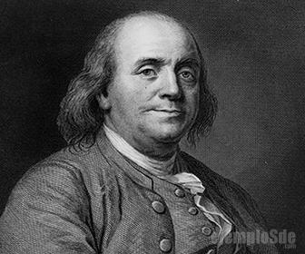 Benjamin Franklin estudió la carga eléctrica