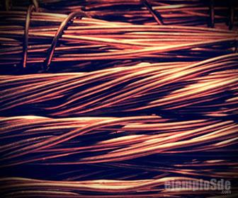 El cobre es el conductor eléctrico por excelencia.