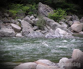 Energía de flujo en un río