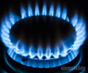 Gas natural se usa como combustible