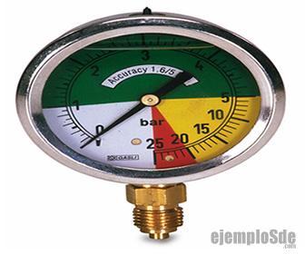Manómetro, medidor de Presión Manométrica