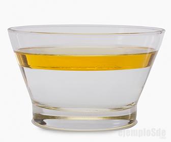 Presión de líquidos diferentes en mismo recipiente