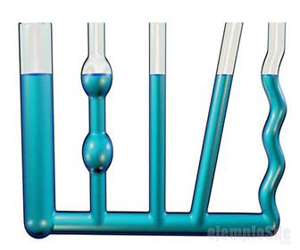 Presión hidrostática depende sólo de la altura, no de la forma del recipiente