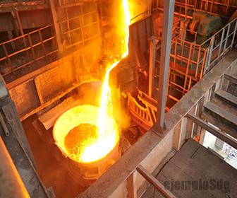 Los metales necesitan un alto calor molar de fusión