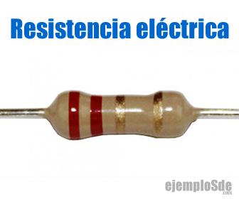 Resistencia eléctrica usada en circuitos
