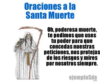 Las oraciones a la Santa Muerte son realizadas por personas que caen en la desesperación.