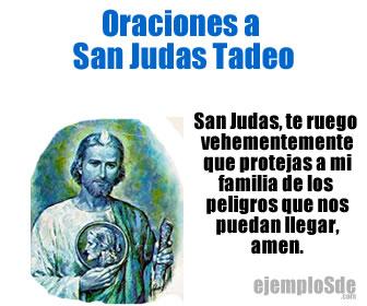 Las oraciones a San Judas Tadeo son para solicitar favores al santo de las causas difíciles.
