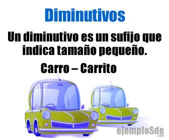 Los diminutivos dan un valor aún más afectivo a las palabras.