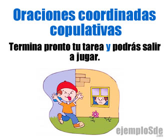 Las oraciones coordinadas copulativas son las que tienen como característica estar unidas por la conjunción copulativa (y, e, ni).