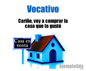 El vocativo es un tipo de adjetivo gramatical o expresiones nominales en caso vocativo que tiene una función apelativa; es decir, sirve para llamar la atención, nombrar o hablar a una persona, animal o cosa.