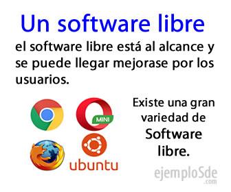 Un software libre puede crearse, modificarse y mejorarse por usuarios experimentados.