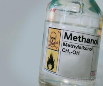 Metanol es muy tóxico