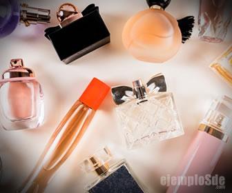 Los aldehidos se usan en perfumes