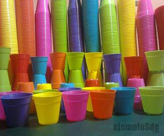 Objetos fabricados con el polimero polipropileno