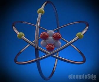 Los átomos tienen protones, neutrones y electrones