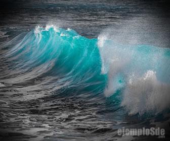 La brisa del mar es un coloide tipo aerosol