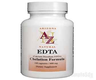 Etilendiaminotetraacetato (EDTA) de Sodio y Calcio