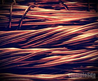 El cobre es uno de los mejores conductores eléctricos