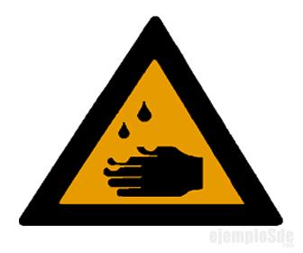 Símbolo de Corrosividad