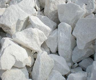Piedra caliza, formada por Carbonato de Calcio