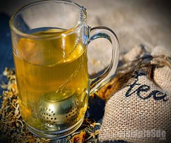 El té es una solución saturada que parte de un sólido y agua