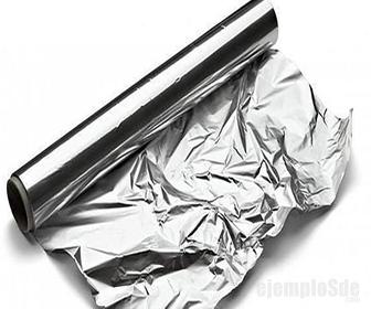 Papel Aluminio, producto de la maleabilidad del Aluminio